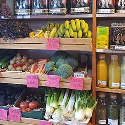 Alimentos ecológicos en Barcelona