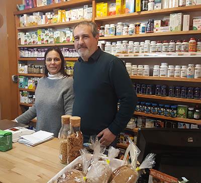 Mariana y Vincenzo, el equipo Solnature
